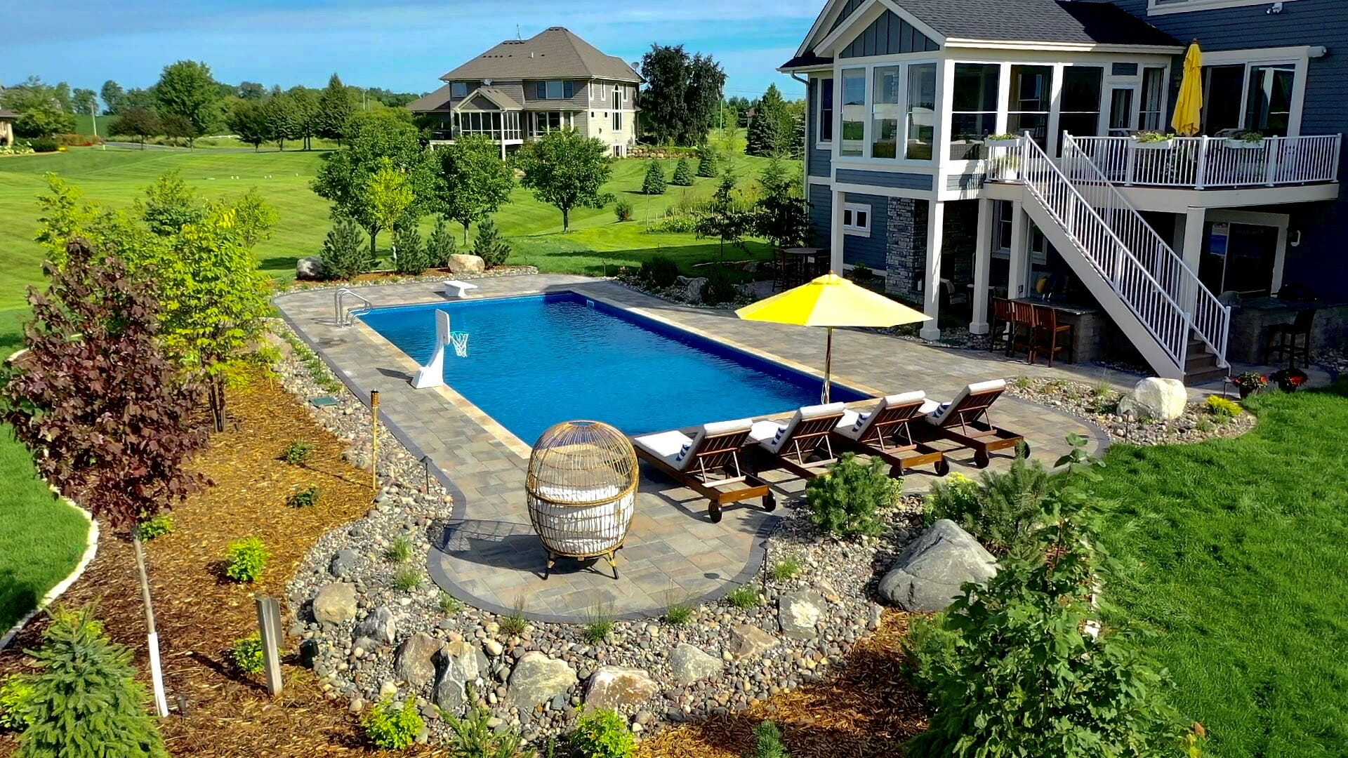 backyard pool renovations